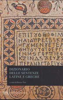 dizionario sentenze latine greche2569