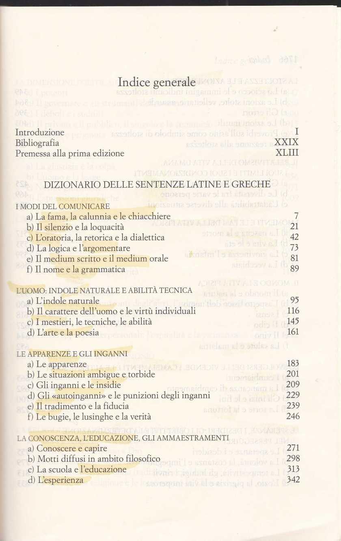 dizionario sentenze latine greche2571