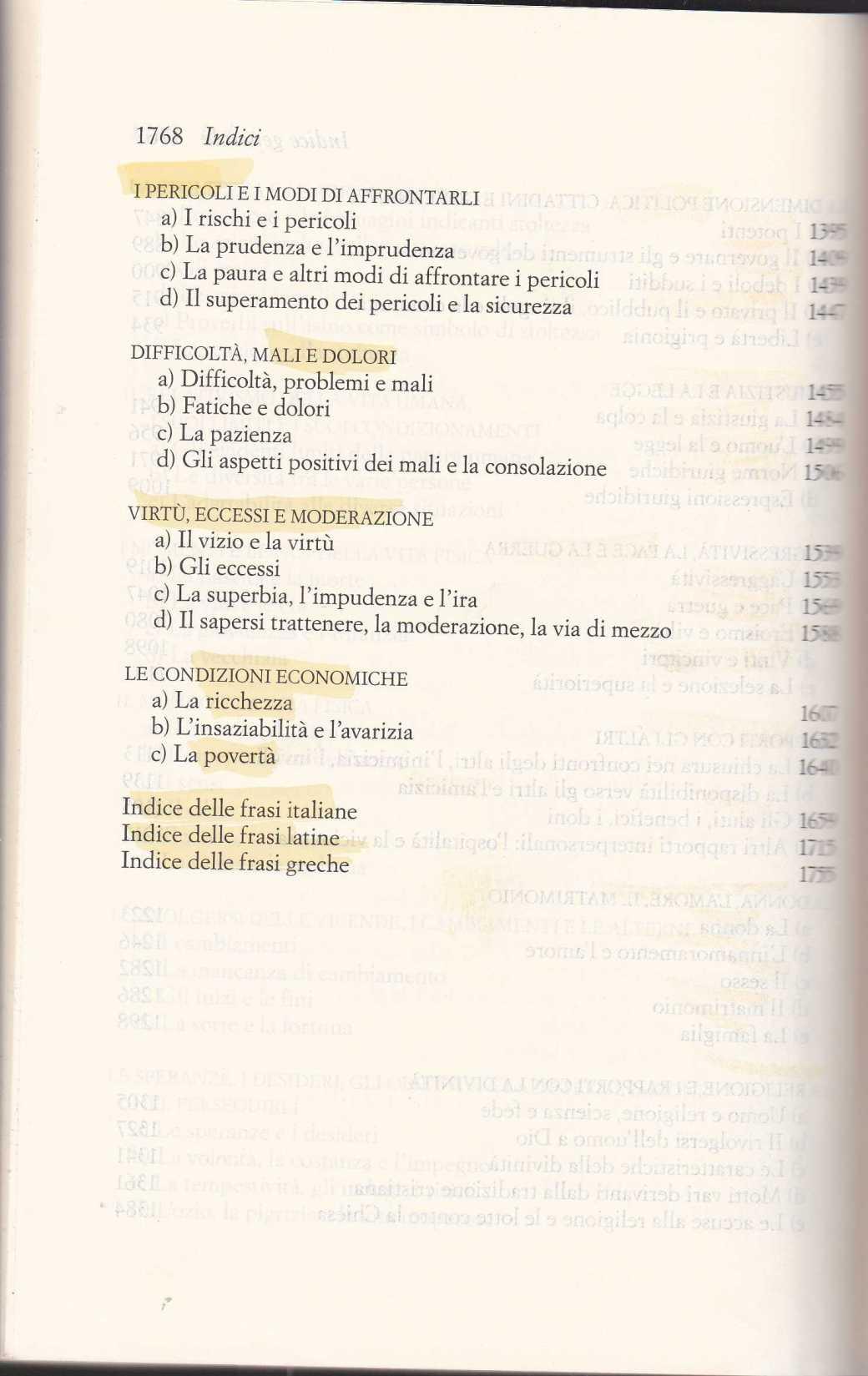 dizionario sentenze latine greche2574